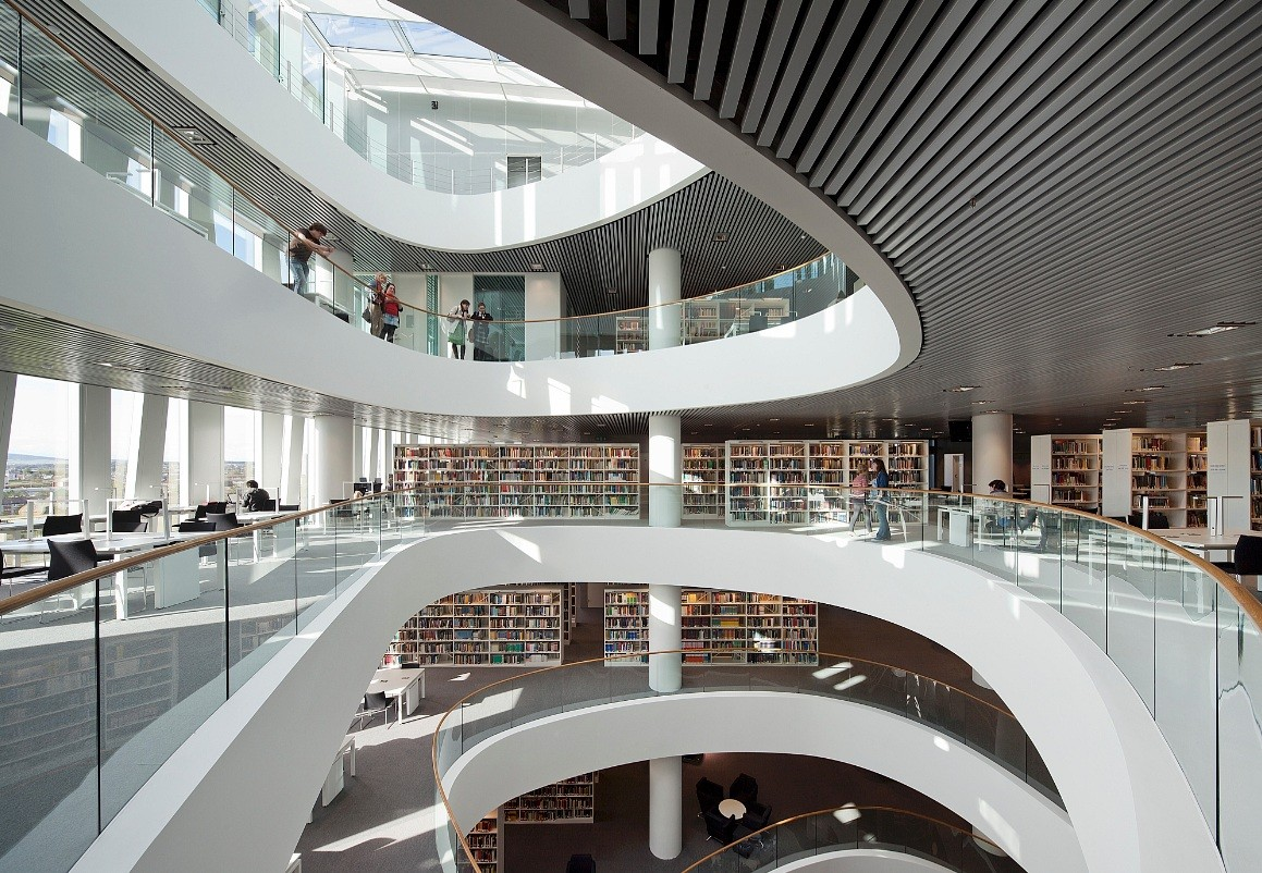 Aberdeen S Sir Duncan Rice Library Officially Opened September 2012 News