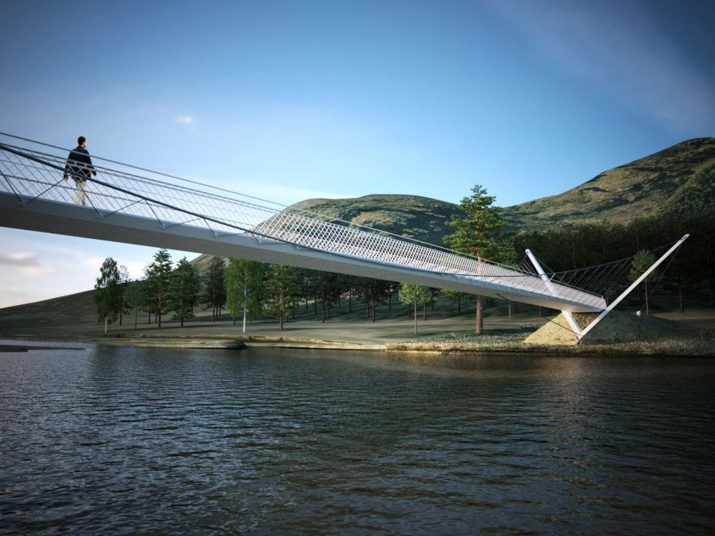 how to get to white river suspension bridge