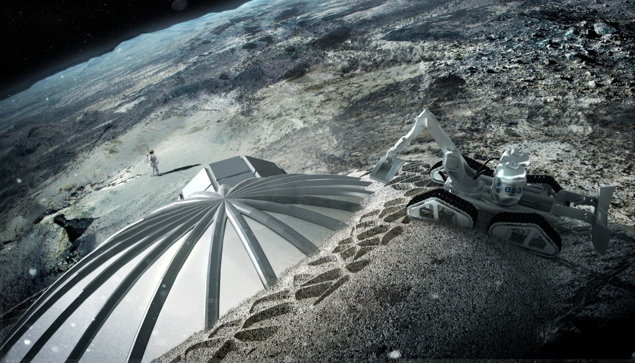 Foster + Partners reveal out of this world Moon base plan ...