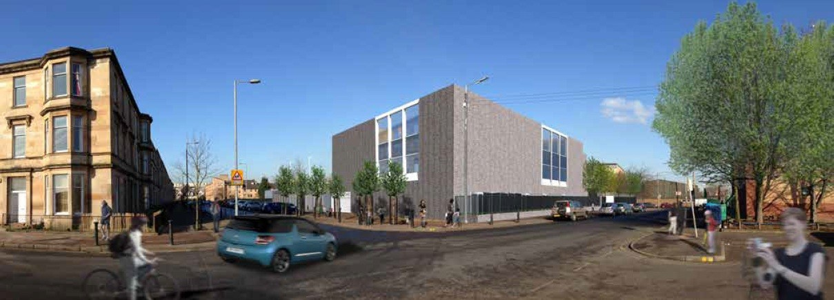 Pollokshields Shared Campus Considered By Planners July 2013 News Architecture In Profile