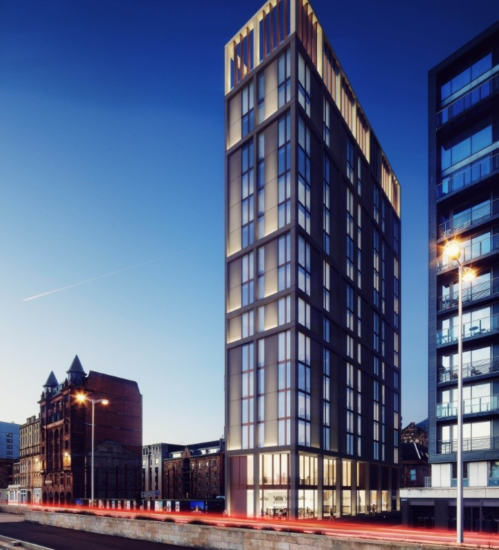Commercial Lighting Glasgow: Latest Glasgow Hotel Plans Submitted : November 2013