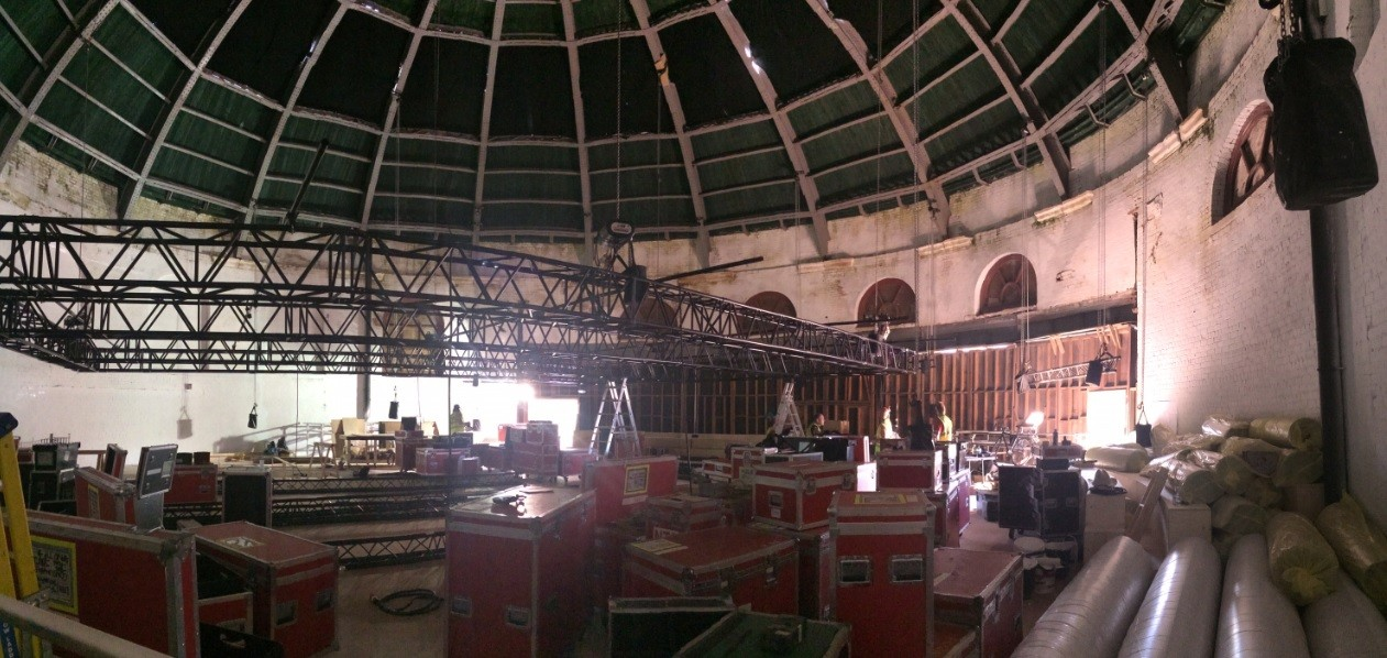 Glasgow S South Rotunda Transformed Into Pop Up Theatre