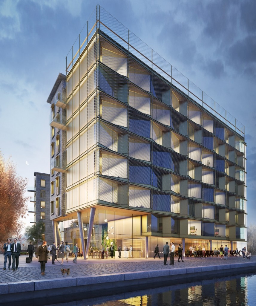 Fountainbridge apart hotel goes in for planning for Hotel building design