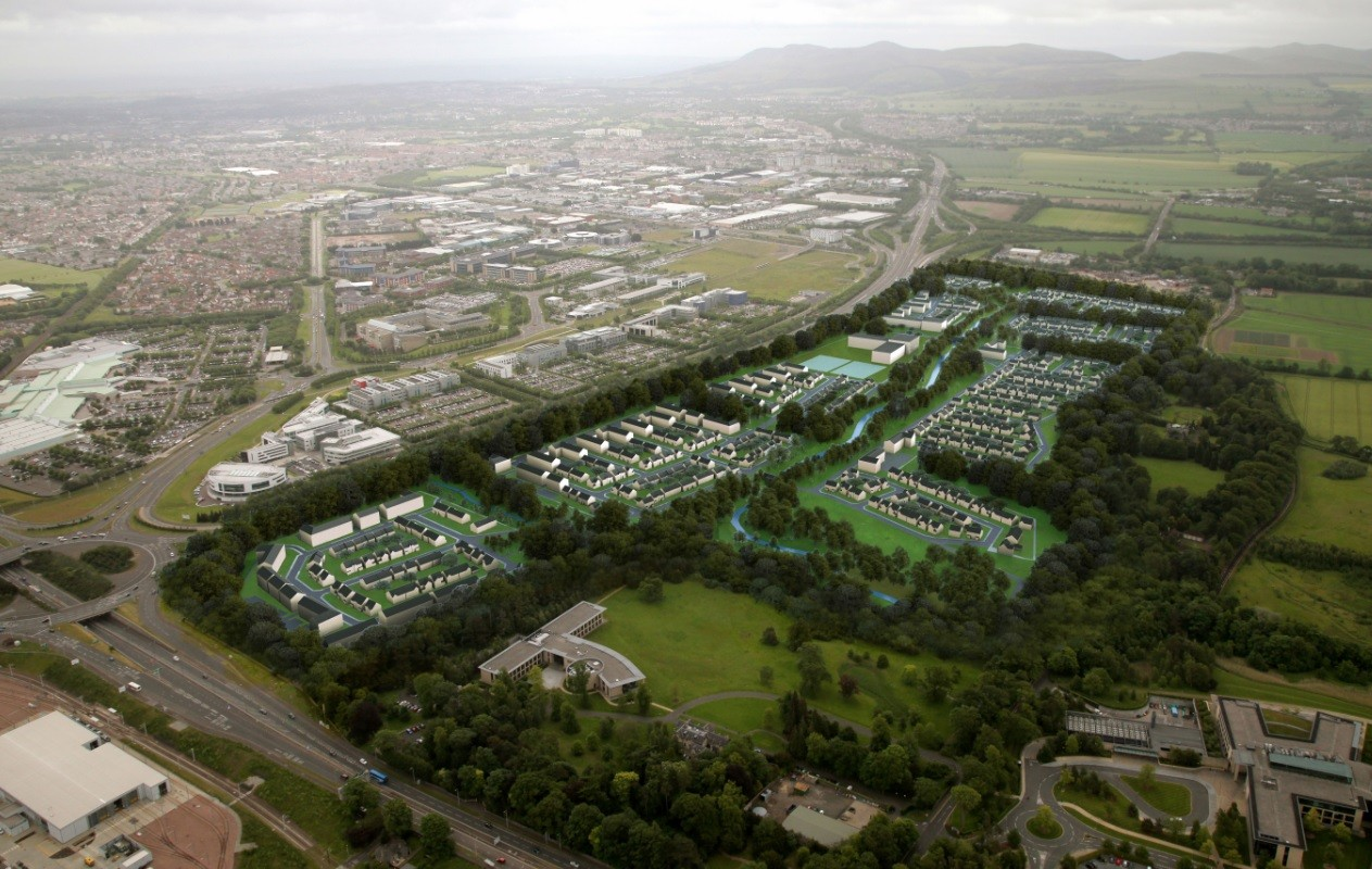 Edinburgh's Garden District wins approval : May 2016 ...