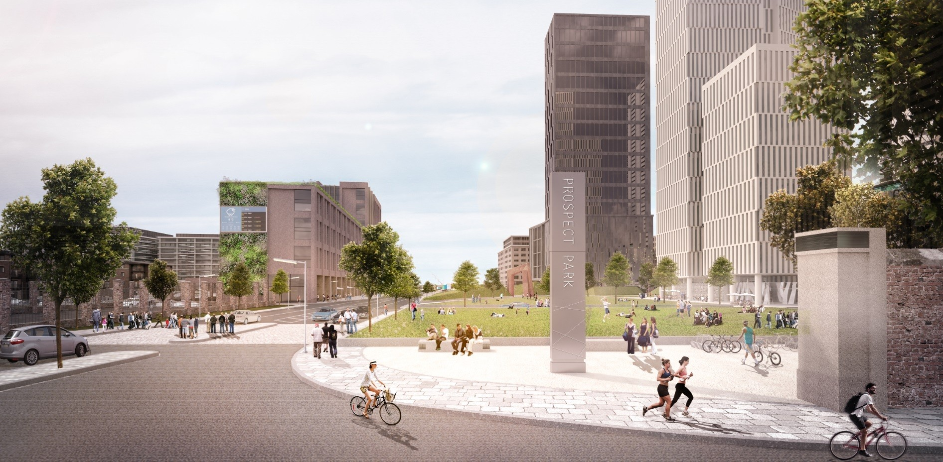 Peel unveil 5bn liverpool waters blueprint march 2017 news 300 million of construction work is expected to start on site before the year malvernweather Images