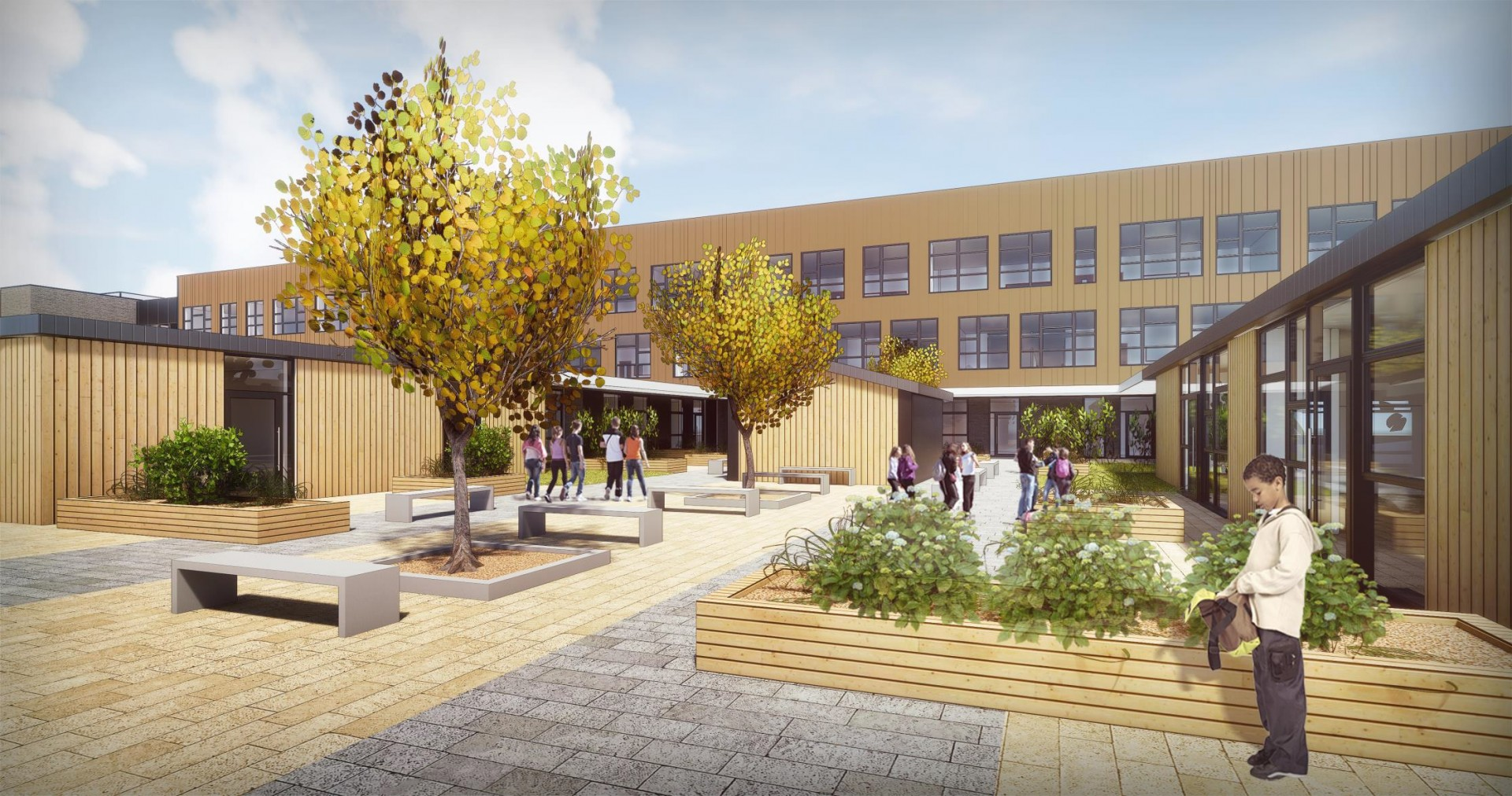 Preparatory works underway at inverurie community campus april 2018 news architecture in for Inverurie swimming pool timetable