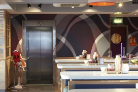 Stannah Lifts in Yo Sushi Eatery- Edinburgh