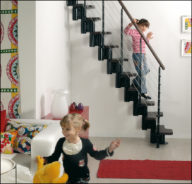 KYA is the staircase designed for the smallest spaces